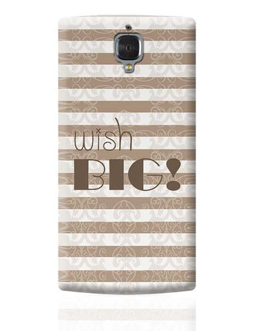 DREAM BIG OnePlus 3 Covers Cases Online India
