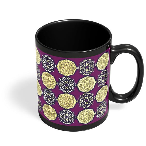 rangoli Black Coffee Mug Online India