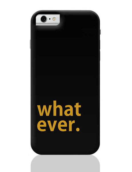 sarcasm iPhone 6 6S Covers Cases Online India
