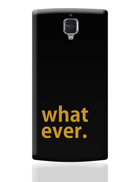 sarcasm OnePlus 3 Covers Cases Online India