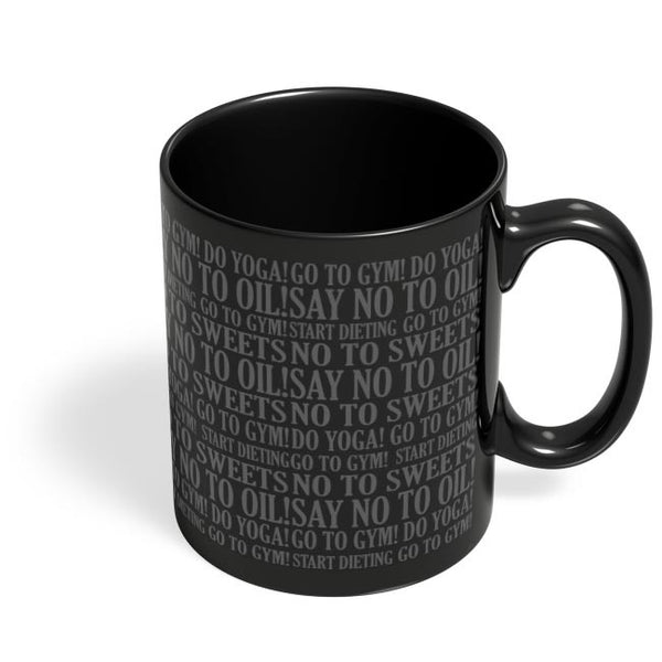 sarcasm Black Coffee Mug Online India