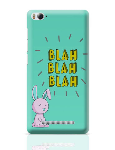 Blah  Xiaomi Mi 4i Covers Cases Online India