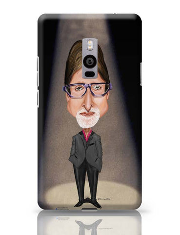 OnePlus Two Covers | Big B Caricature OnePlus Two Case Cover Online India