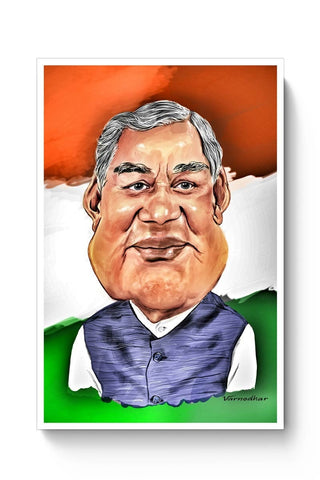 Posters Online | Mr. Vajpayee Poster Online India | Designed by: Varnodhar
