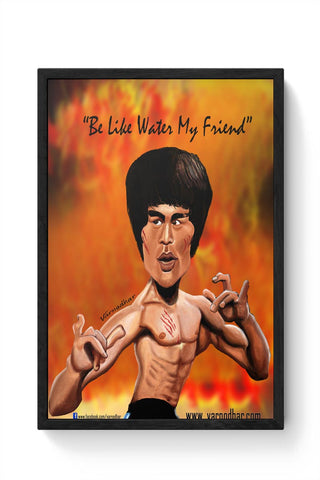 Framed Posters Online India | Mr. Lee Framed Poster Online India