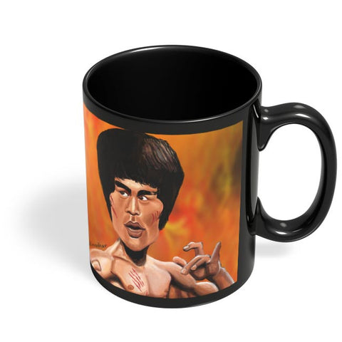 Coffee Mugs Online | Mr. Lee Black Coffee Mug Online India