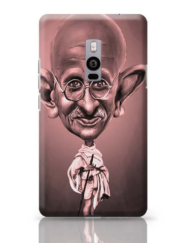 OnePlus Two Covers | Gandhi OnePlus Two Case Cover Online India