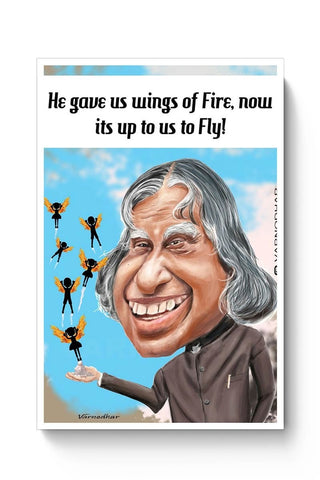 Posters Online | Wings Of Fire Poster Online India | Designed by: Varnodhar