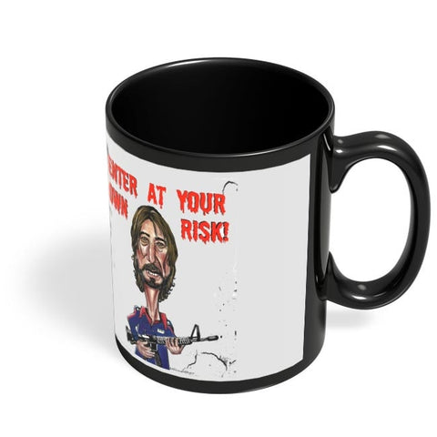 Coffee Mugs Online | Shakti Kapoor Black Coffee Mug Online India