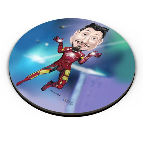 PosterGuy | Man Of Iron Fridge Magnet Online India by Varnodhar