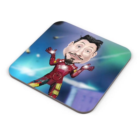 Buy Coasters Online | Man Of Iron Coasters Online India | PosterGuy.in