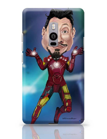 OnePlus Two Covers | Man Of Iron OnePlus Two Case Cover Online India