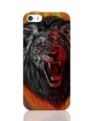 iPhone 5 / 5S Cases & Covers | Lion iPhone 5 / 5S Case Cover Online India