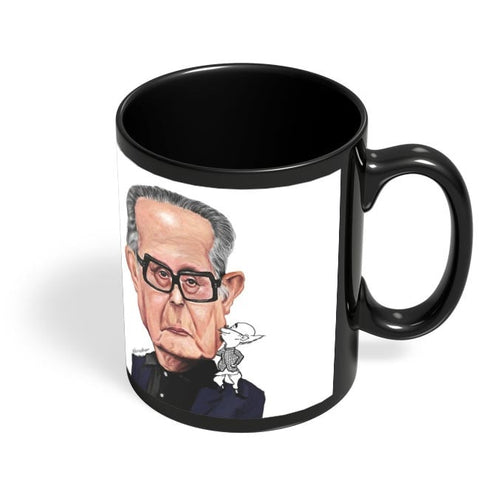 Coffee Mugs Online | Rk Lakshman Black Coffee Mug Online India