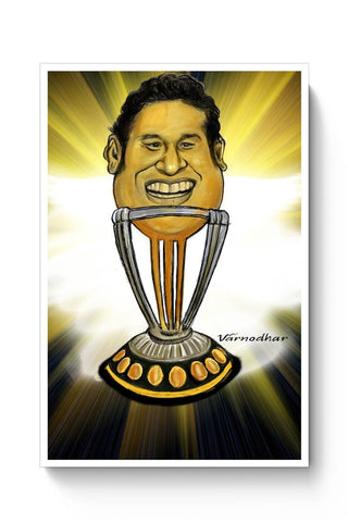 Posters Online | Sachin-The World Cup Poster Online India | Designed by: Varnodhar