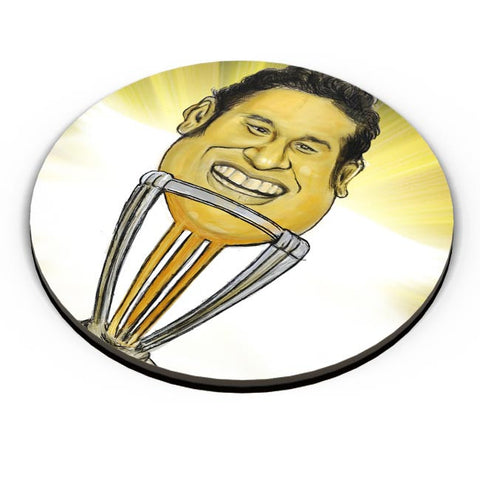 PosterGuy | Sachin-The World Cup Fridge Magnet Online India by Varnodhar