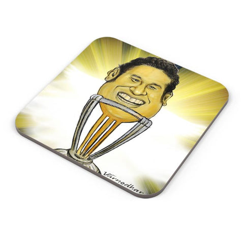 Buy Coasters Online | Sachin-The World Cup Coasters Online India | PosterGuy.in