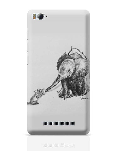 Xiaomi Mi 4i Covers | baby elephant rat Xiaomi Mi 4i Case Cover Online India