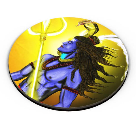 PosterGuy | BHOLENATH Fridge Magnet Online India by Varnodhar