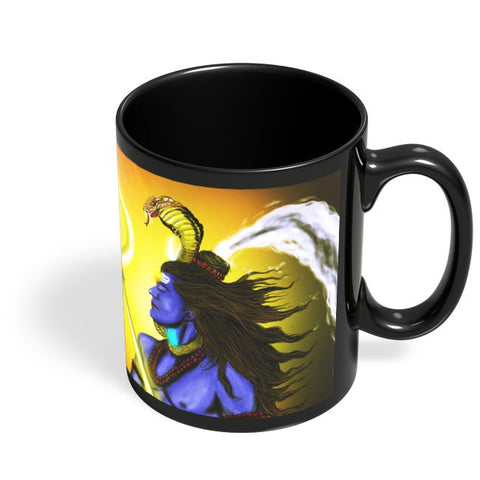 Coffee Mugs Online | BHOLENATH Black Coffee Mug Online India