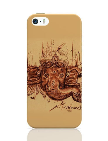 iPhone 5 / 5S Cases & Covers | Lord Ganesha Sketch iPhone 5 / 5S Case Cover Online India