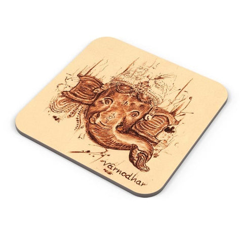 Buy Coasters Online | Lord Ganesha Sketch Coasters Online India | PosterGuy.in