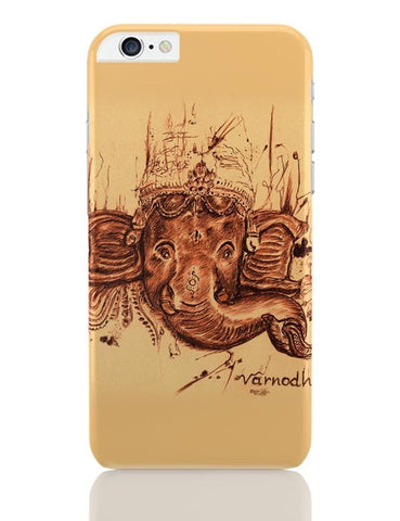 iPhone 6 Plus/iPhone 6S Plus Covers | Lord Ganesha Sketch iPhone 6 Plus / 6S Plus Covers Online India