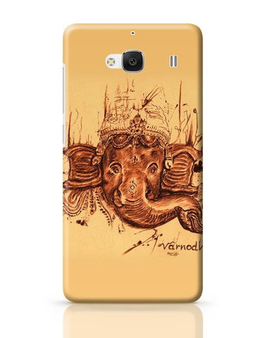 Xiaomi Redmi 2 / Redmi 2 Prime Cover| Lord Ganesha Sketch Redmi 2 / Redmi 2 Prime Case Cover Online India