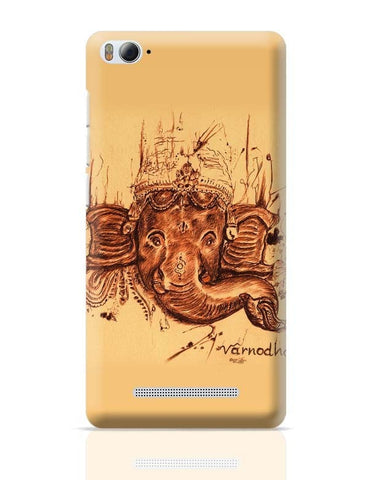 Xiaomi Mi 4i Covers | Lord Ganesha Sketch Xiaomi Mi 4i Case Cover Online India