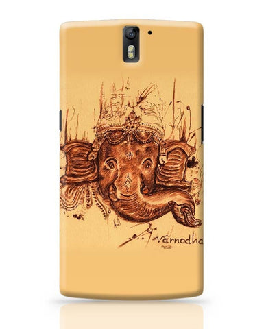 OnePlus One Covers | Lord Ganesha Sketch OnePlus One Case Cover Online India