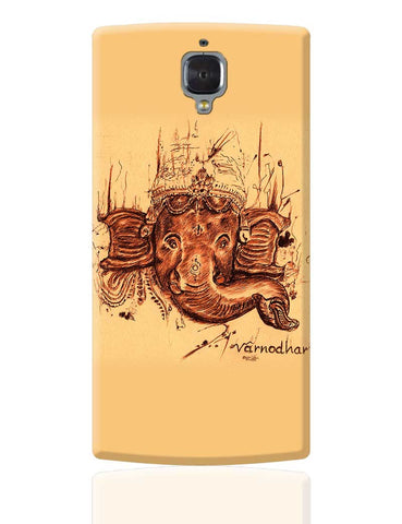 Lord Ganesha Sketch  OnePlus 3 Cover Online India