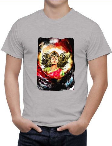 Buy Devi maa Durga Mata Woman T-Shirts Online India | Devi maa Durga Mata T-Shirt | PosterGuy.in