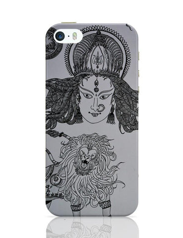 iPhone 5 / 5S Cases & Covers | DURGA MAA Sherawali Maa iPhone 5 / 5S Case Cover Online India