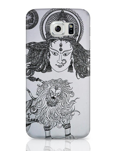 Samsung Galaxy S6 Covers | DURGA MAA Sherawali Maa Samsung Galaxy S6 Case Covers Online India