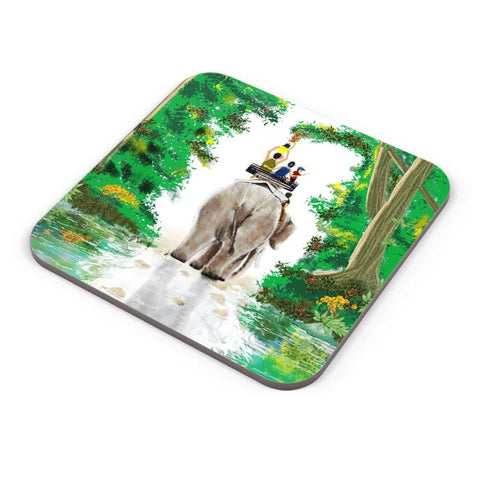 Buy Coasters Online | ELEPHANT RIDE Coasters Online India | PosterGuy.in