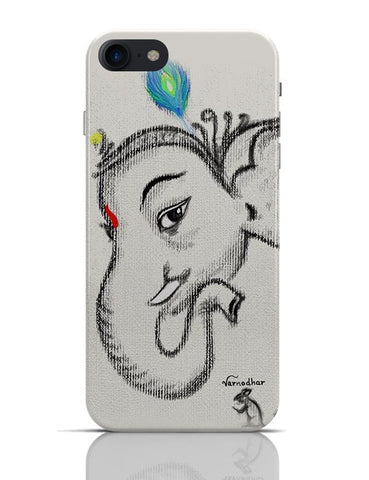 Lord Ganesha Illustration iPhone 7 Covers Cases Online India