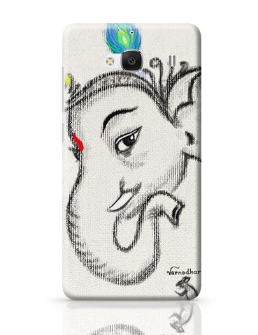 Xiaomi Redmi 2 / Redmi 2 Prime Cover| Lord Ganesha Illustration Redmi 2 / Redmi 2 Prime Case Cover Online India