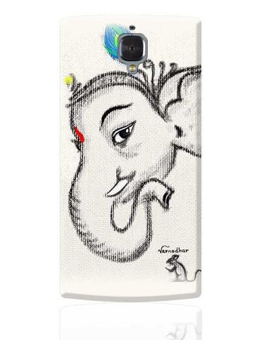 Lord Ganesha Illustration OnePlus 3 Cover Online India