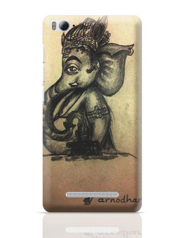 Xiaomi Mi 4i Covers | Ganesh Ji Illustration Xiaomi Mi 4i Case Cover Online India
