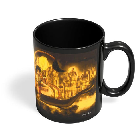 Coffee Mugs Online | Hanuman final Black Coffee Mug Online India