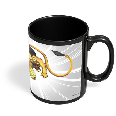 Coffee Mugs Online | Hanuman power Black Coffee Mug Online India