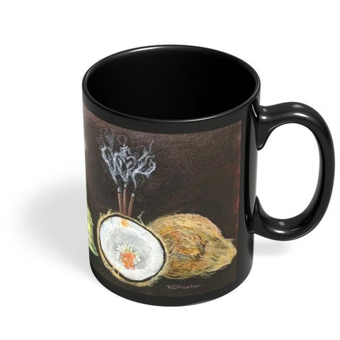 Coffee Mugs Online | The Cultural Equipments Black Coffee Mug Online India