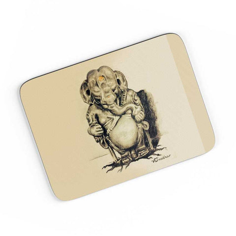 Lord Ganesha Sketch  A4 Mousepad Online India