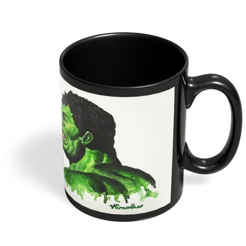 Coffee Mugs Online | The Green Monster Black Coffee Mug Online India