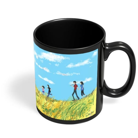 Coffee Mugs Online | Moments Black Coffee Mug Online India