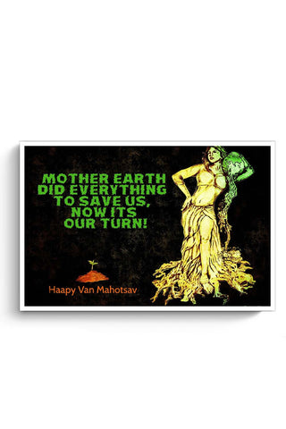 Posters Online | Mother Nature Plea Poster Online India | Designed by: Varnodhar