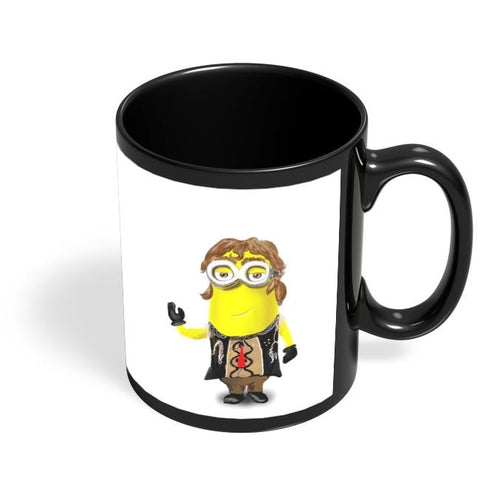 Coffee Mugs Online | MUGAMBO Character Quirky Black Coffee Mug Online India