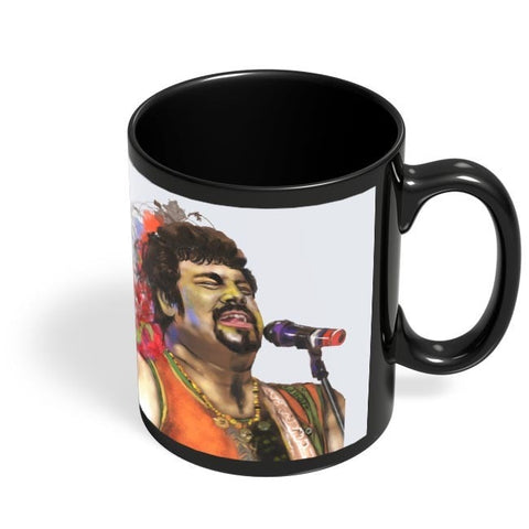 Coffee Mugs Online | RAGHU DIXIT Black Coffee Mug Online India