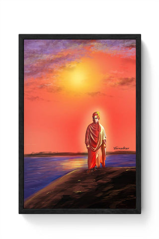 swamy vivekananda Framed Poster Online India
