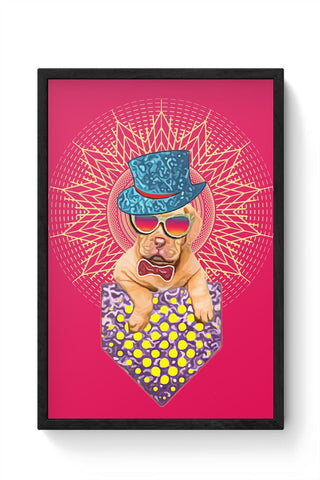 Framed Posters Online India | Super Cool Dog Framed Poster Online India